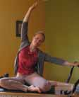 Elizabeth on Pilates reformer